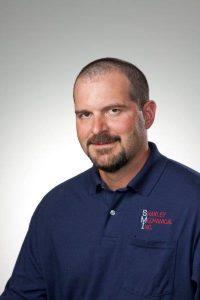Shakley Mechanical Inc. technician Dan Sanders