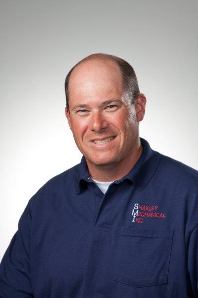 Shakley Mechanical Inc. technician Ryan Sheppard - HVAC Equipment Installations