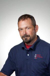 Shakley Mechanical Inc. technician Seth Moody