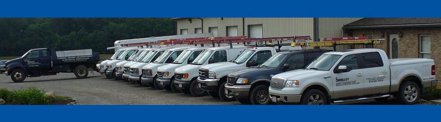 Shakley Mechanical heating and cooling truck fleet
